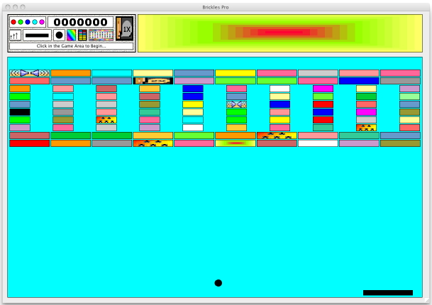 Screenshot of Brickles3000 - Brickles for the Macintosh